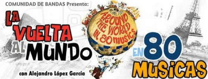 COMUNIDAD DE BANDASPresenta 80 musicas