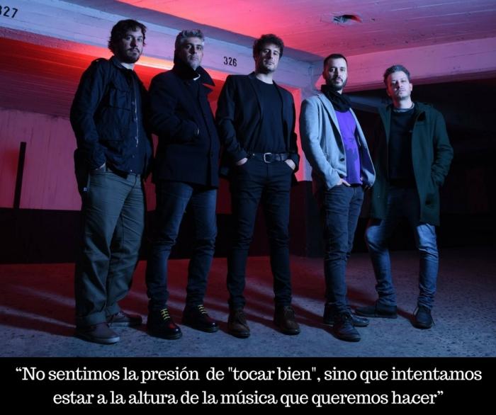 """""""No sentimos la presión de _tocar bien_, sino que intentamos estar a la altura de la música que queremos hacer"""""""