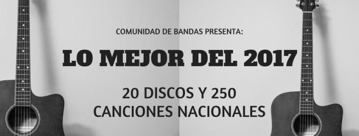 LOS MEJOR DEL 2017(nacionales)