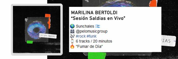 Ficha Marilina en vivo